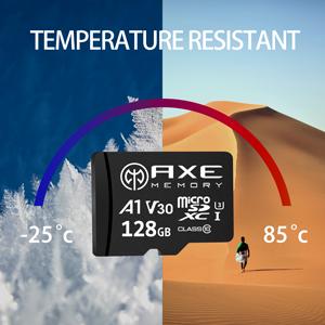 AXE Memory MicroSD temperature resistance