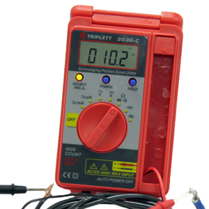 security, home theater, electrical, hvac installation digital multimeter