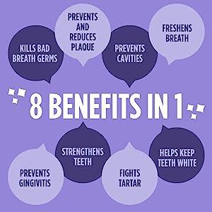 8 Benefits in 1