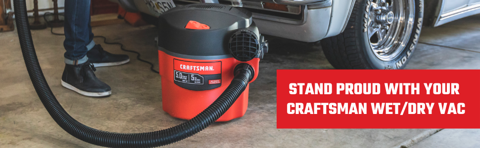 CRAFTSMAN car wet dry vac vacuum portable attachment shop vac craftman crevice nozzle extension