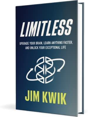 jim kwik limitless brain memory focus habits learning ability