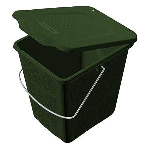 rotho kompost eimer greenline bio m lleimer f r die k che mit geruchsdichtem ebay. Black Bedroom Furniture Sets. Home Design Ideas
