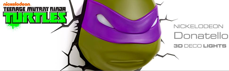 Amazon.com: TMNT Donatello 3d deco Light: Toys & Games