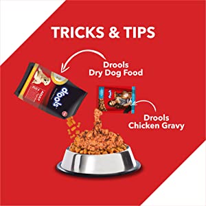 Drools Adult Wet Dog Food, Real Chicken and Chicken Liver Chunks in Gravy