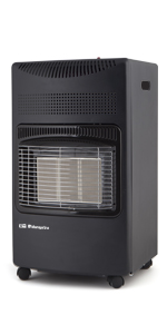 calefactor, radiador, estufa, estufa gas, estufa butano, calefactor baño, estufa catalítica