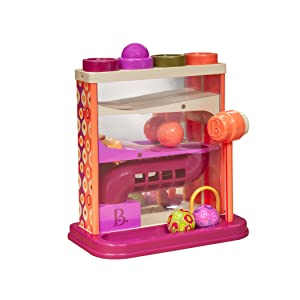 B. Toys, Whack Ball, Ball Maze, Battat Toys, Battat, Toddler Toys, Fun Activity
