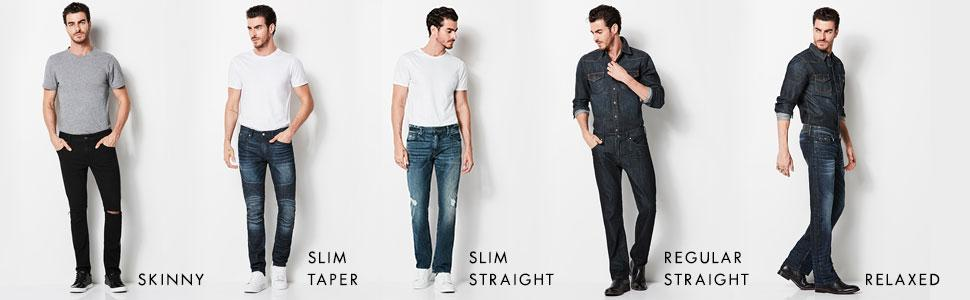 1f63d950ca975 Skinny Jeans · Slim Taper Jeans · Slim Straight Jeans · Regular Straight  Jeans · Relaxed Straight Jeans