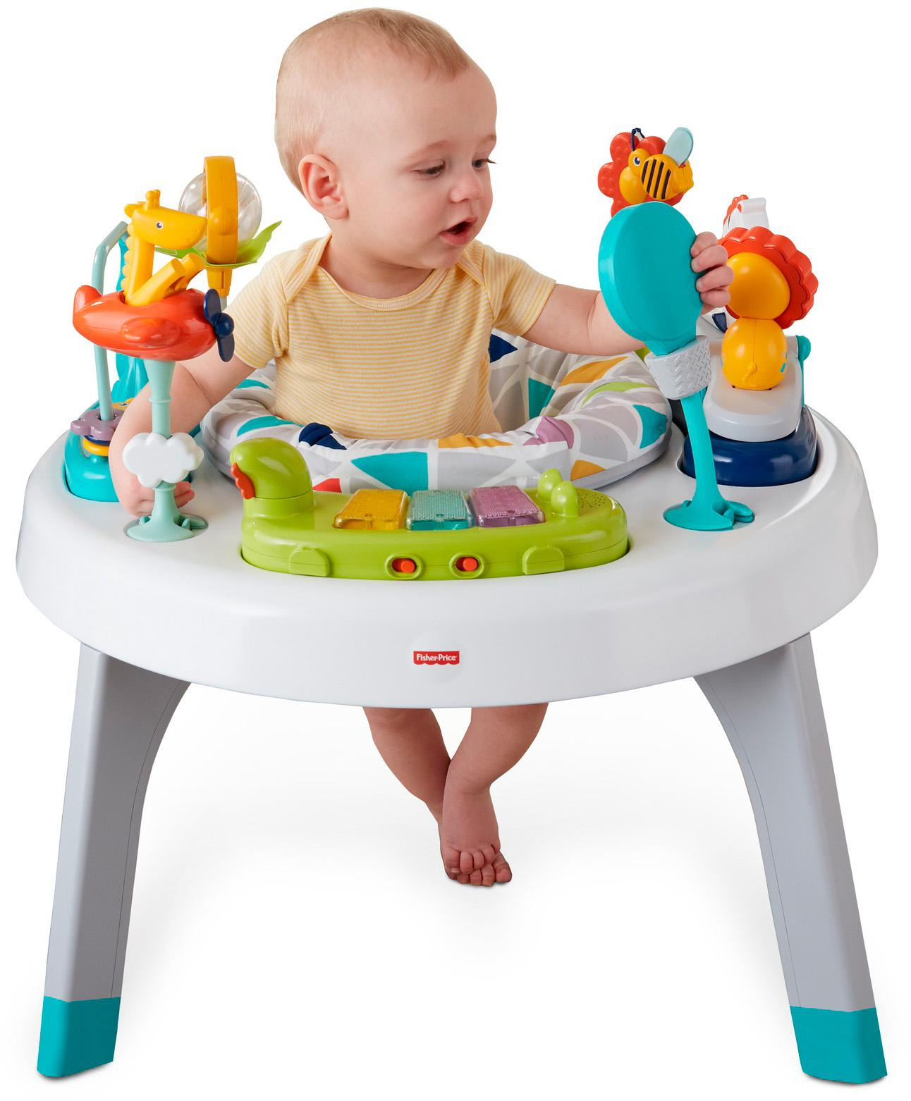 Amazon Com Fisher Price 2 In 1 Sit To Stand Activity