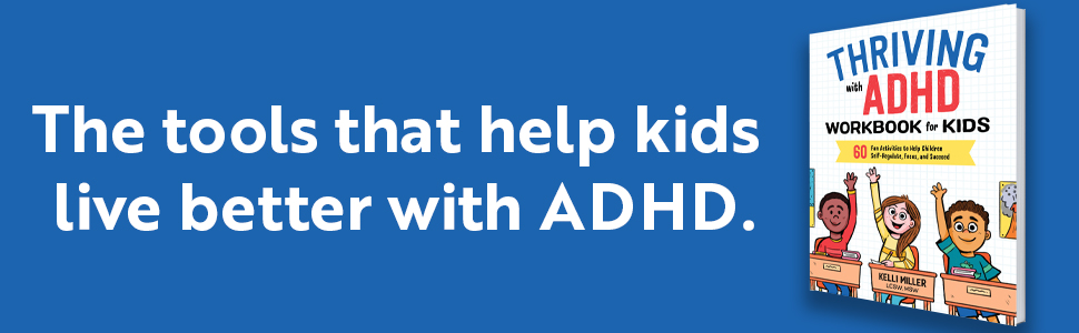 adhd, adhd workbook for kids, add, executive functioning, smart but scattered, adhd books