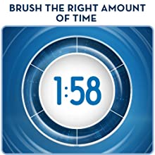 2-minute timer helps you brush the correct time