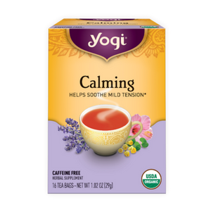 Yogi Tea, Calming, 16 Count