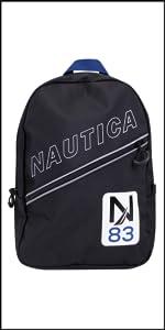 184cf06e2c35 Amazon.com: Nautica Kids' Little Drawstring Backpack Cinch Bag, blue ...
