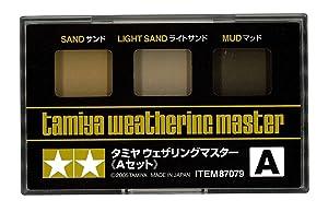 タミヤ メイクアップ材シリーズ No.79 ウェザリングマスター A (サンド) 87079