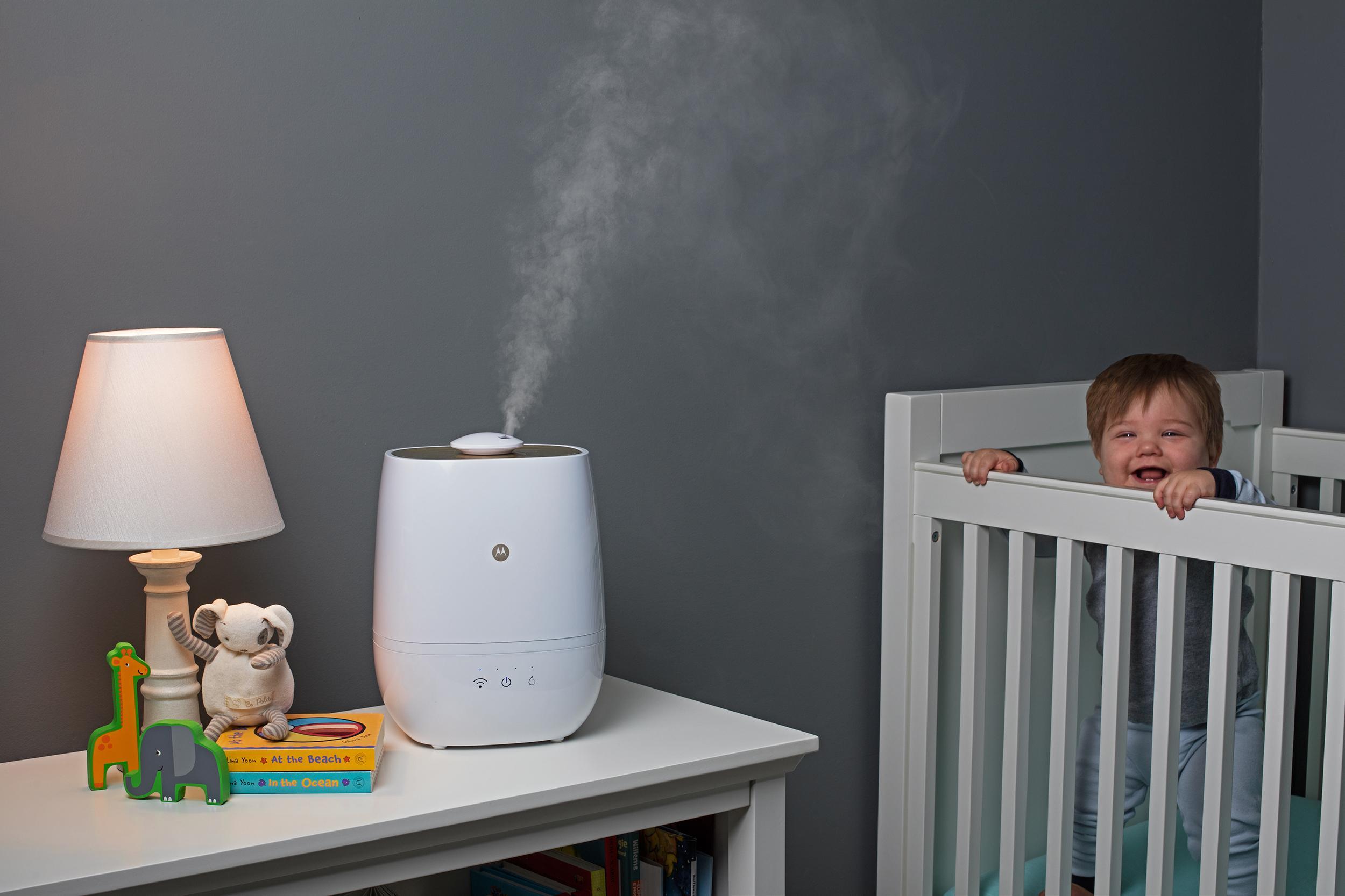 Motorola Smart Nursery Humidifier Plus Amazon Co Uk Baby