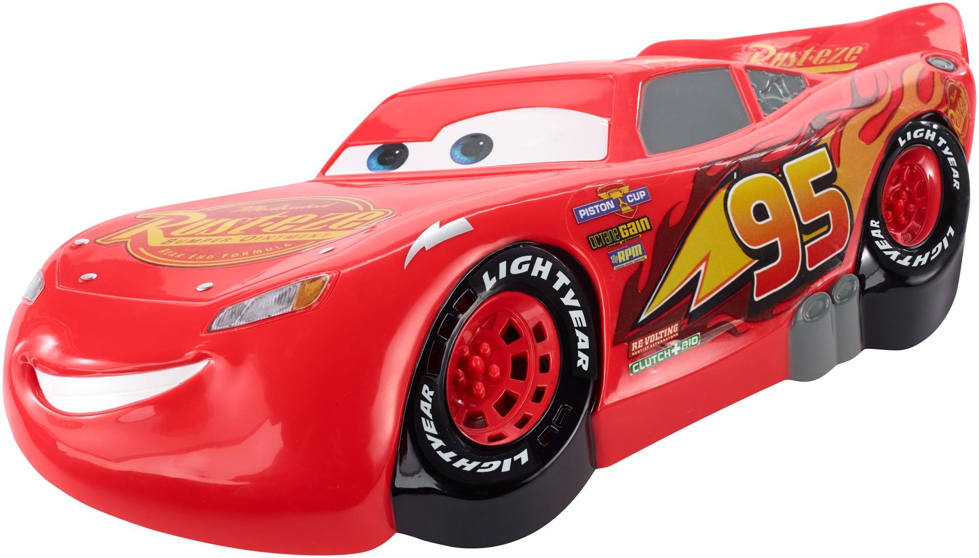 gas out disney pixar cars lightning mcqueen card game. Black Bedroom Furniture Sets. Home Design Ideas
