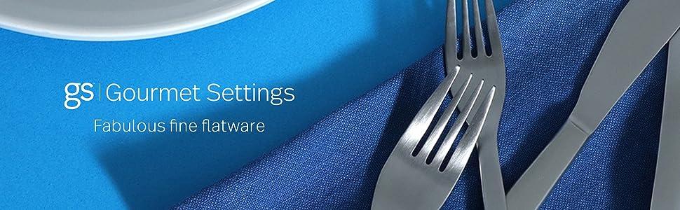 flatware set silverware silver ware sets cutlery dinnerware utensils tableware oneida mikasa wmf 4 6