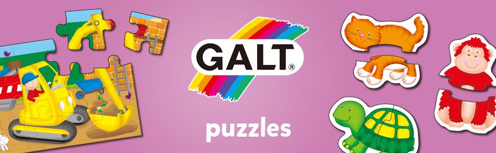 Galt Toys Puzzles Range