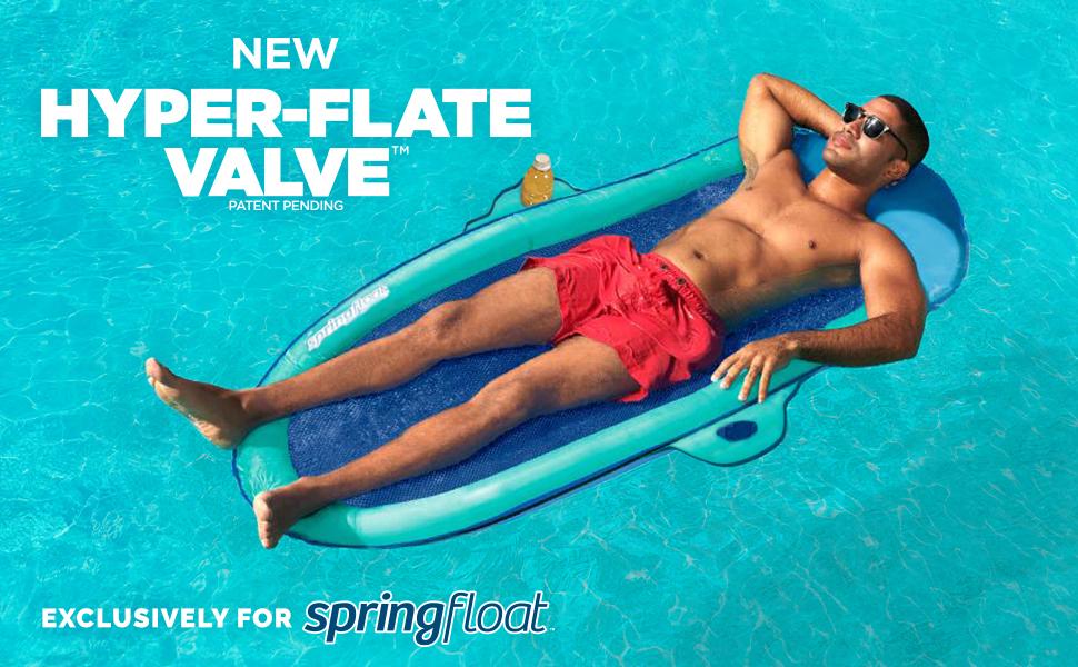 spring float suncatcher swimways hyper-flate valve