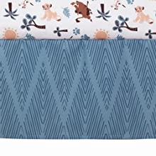 Lion King Crib Skirt