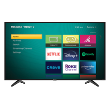 Hisense Roku TV User interface