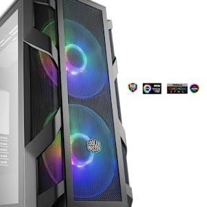 Dual 200mm ARGB Fans