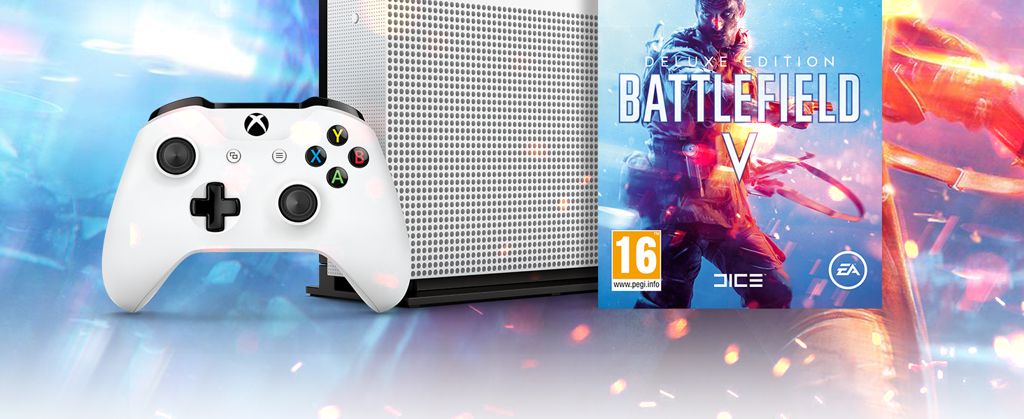 One S - Consola 1 TB + Battlefield V: Amazon.es: Videojuegos