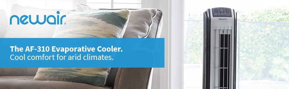AF-310, evaporative cooler, tower fan, digital