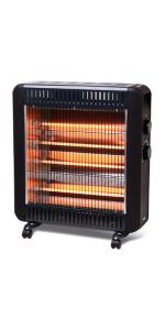 radiant heater