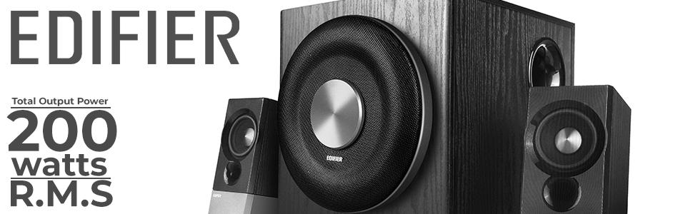 bluetooth speakers, edifier speakers, surround sound, tv soundbar, tv speakers, 2.1 system