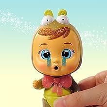 mini muñecas que lloran lágrimas de verdad