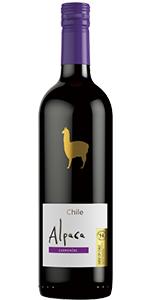ワイン アルパカ サンタ・ヘレナ・アルパカ チリ 750ml カルメネール