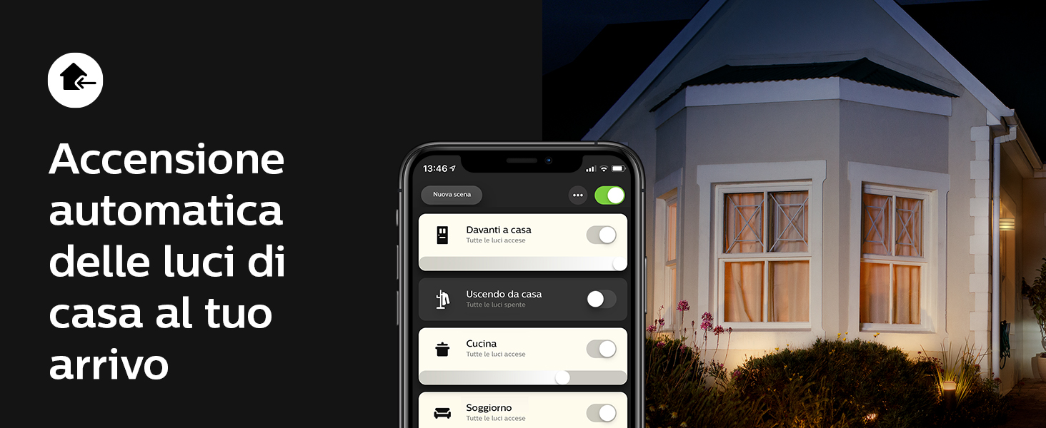 Hue, Philips Hue, Bluetooth, smarthome, luce connessa