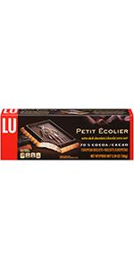 Lu Cookies Extra Dark Chocolate