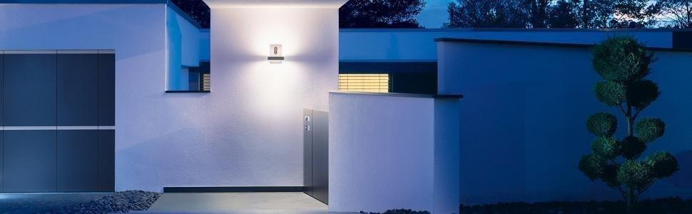 Steinel Signalisation Extérieure L 820 iHF Détecteur mvt Lampe murale Lampe de mur