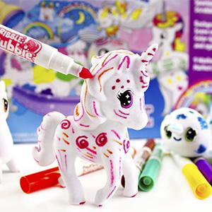 Unicorn, Draw, Color, Design, Toy, Play, Scribble, Scrubbie, Wash, Pet, Toy, Fun, Girls, Fantasy,