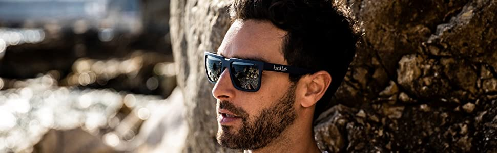 boll/é 527 Sunglasses Matte Grey Cristal Medium Unisex