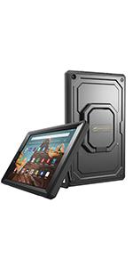 fire hd 10 2019 9th gen cover case flip folding magnetic smart slim lightweight keyboard accessories