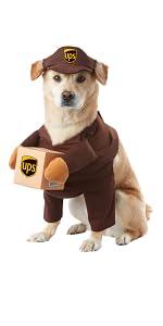 FedEx Dog, UPS Dog, Pet Costume, Dog Costume, Cute Dog, Delivery Dog, USPS Dog Costume