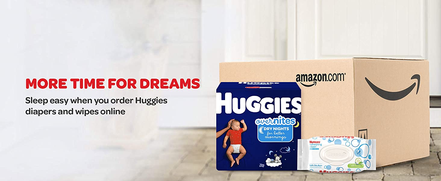 Huggies OverNites Baby Diapers - Save Time and Money with Amazon Subscribe & Save