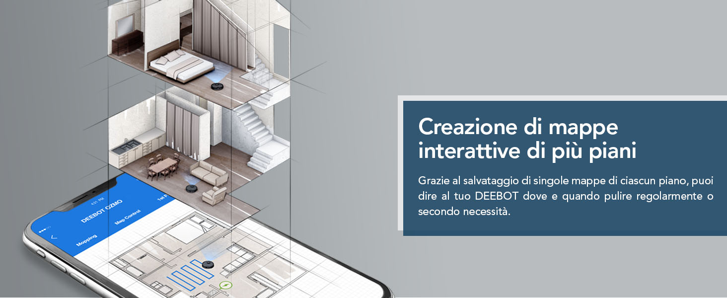 Creazione di mappe interattive di piu piani