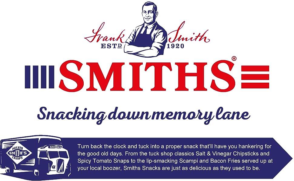 Smiths Snacking Down Memory Lane