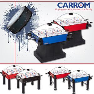 Amazon.com : Carrom 425.01 Signature Stick Hockey Table with ...