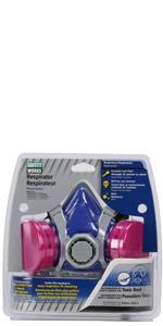 respirator, half mask, toxic dust