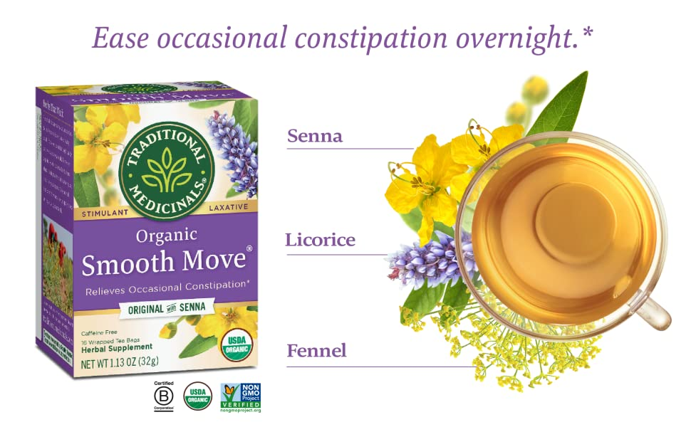Smooth move laxative senna