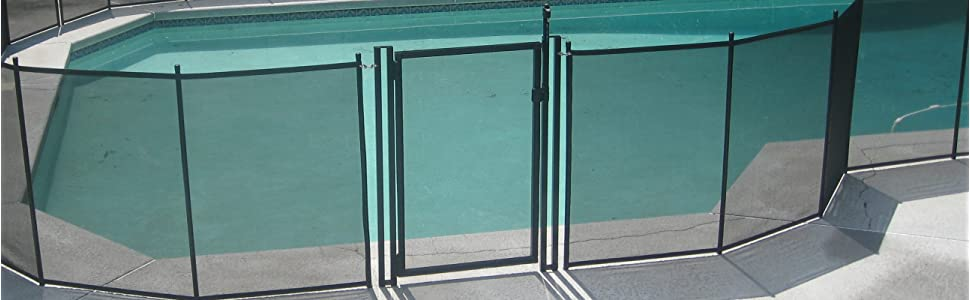 Amazon Com Pool Fence Diy By Life Saver Self Closing Gate