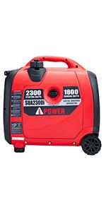 A-iPower SUA2300iV 2300 Watt Portable Inverter Generator