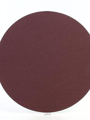 3M PSA Cloth Disc 348D PSA Attachment 3 Diameter 40 Grit Pack of 50 Aluminum Oxide
