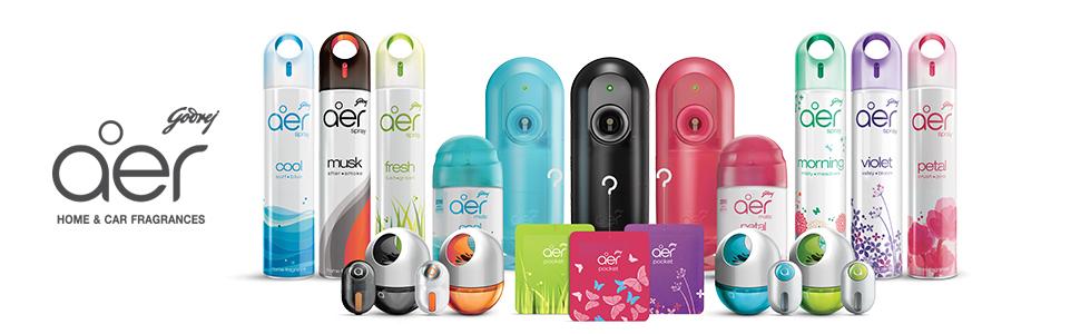 godrej aer car and home air freshener fragrance full product range