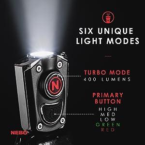 6 Lichtmodi