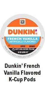 Dunkin' French Vanilla K Cups